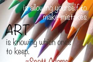 Quote about creative inspiration
