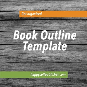 Get organized book outline template