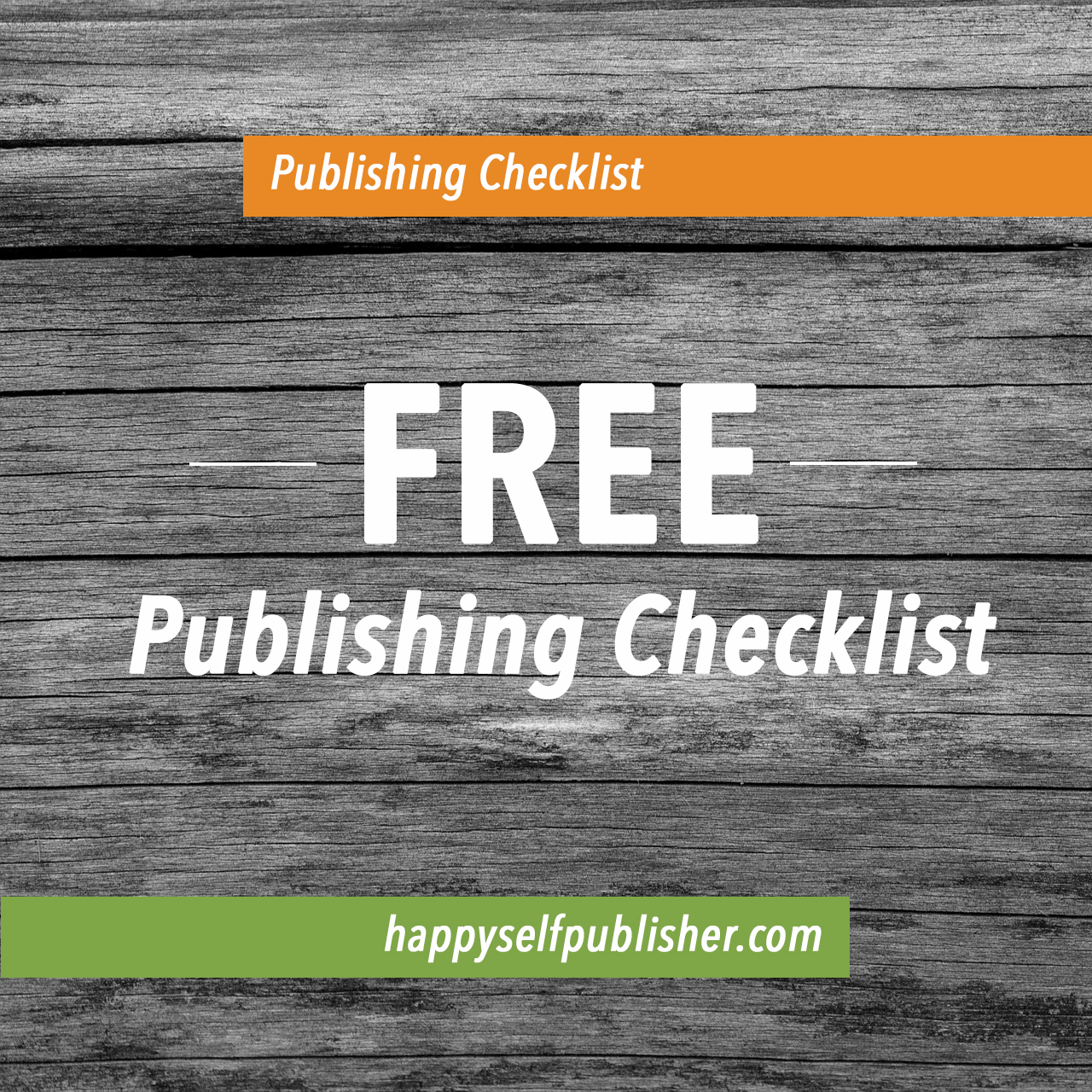 Self-Publishing Checklist