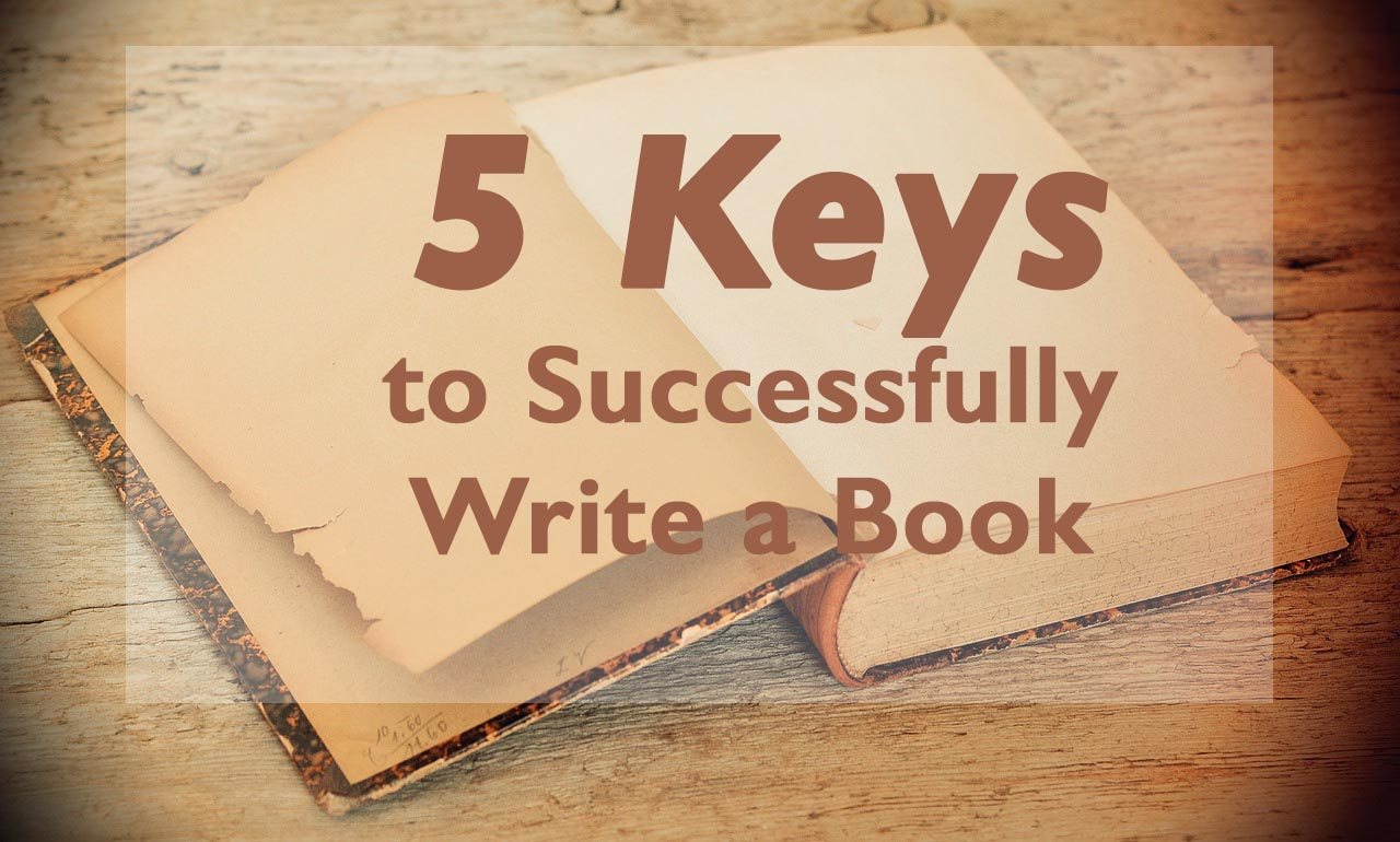 keys to writing a book