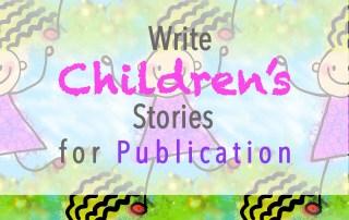 write childrens stories
