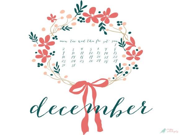 december ipad wallpaper