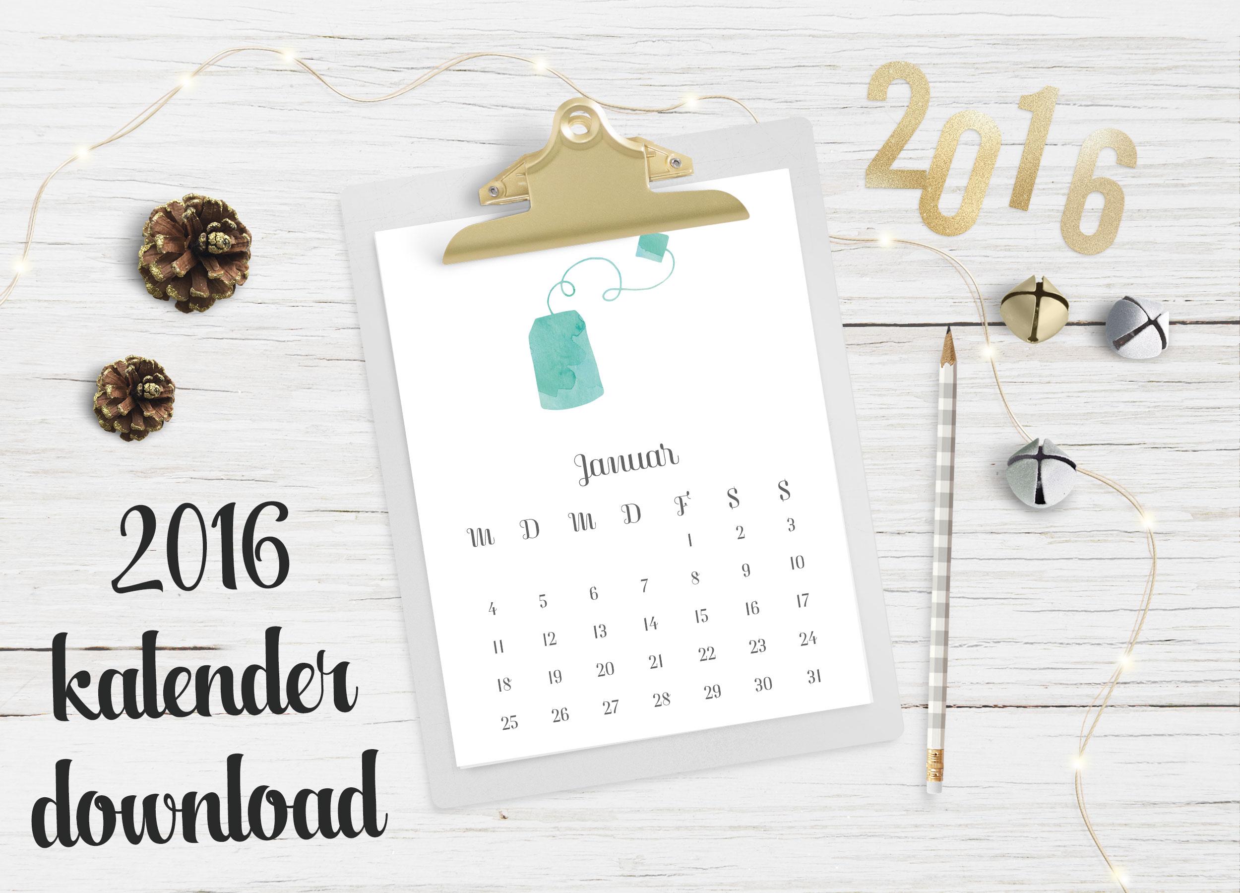 happy serendipity kalender f r 2016. Black Bedroom Furniture Sets. Home Design Ideas