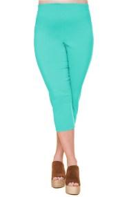 Ελαστικό 3/4 παντελόνι σε βεραμάν χρώμα