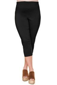 Ελαστικό 3/4 παντελόνι σε μαύρο χρώμα