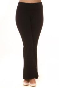 Παντελόνι καμπάνα σε μαύρο χρώμα