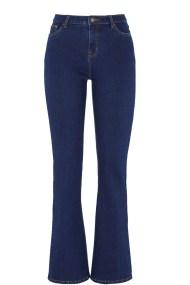 Παντελόνι bootcut σε dark denim blue χρώμα