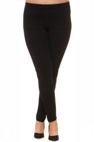 Scuba κρεπ παντελόνι σε μαύρο χρώμα