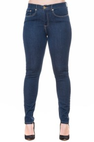 Jean denim blue παντελόνι με στενό τελείωμα