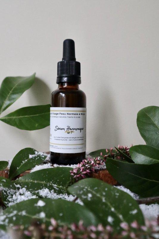 sérum harmonique n°1 apaisant peau sensible neutre sans huiles essentielles