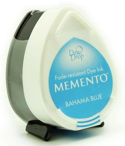 Tsukineko Bahama Blue