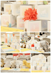 Animal Babies: A Twins Baby Shower Idea! - Happy Strong Home