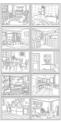 10 Free Printable House Coloring Pages Beautiful Home Pictures for Kids or Adults