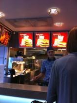 Hessburger in Savonlinna