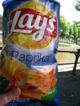 """Paprika"" potato chips"