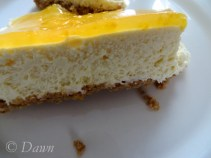 Ostakaka mandarin orange cheesecake from the Bonus market