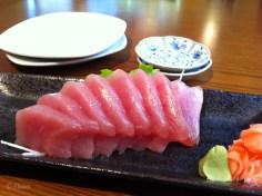 Tuna Sashimi from Sushi Matsuri in Victoria, BC