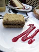 Tasty dessert from Bel-Gaufre in Old Quebec