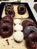 Assortment of doughnuts and other goodies from Nourish Kitchen and Bakery