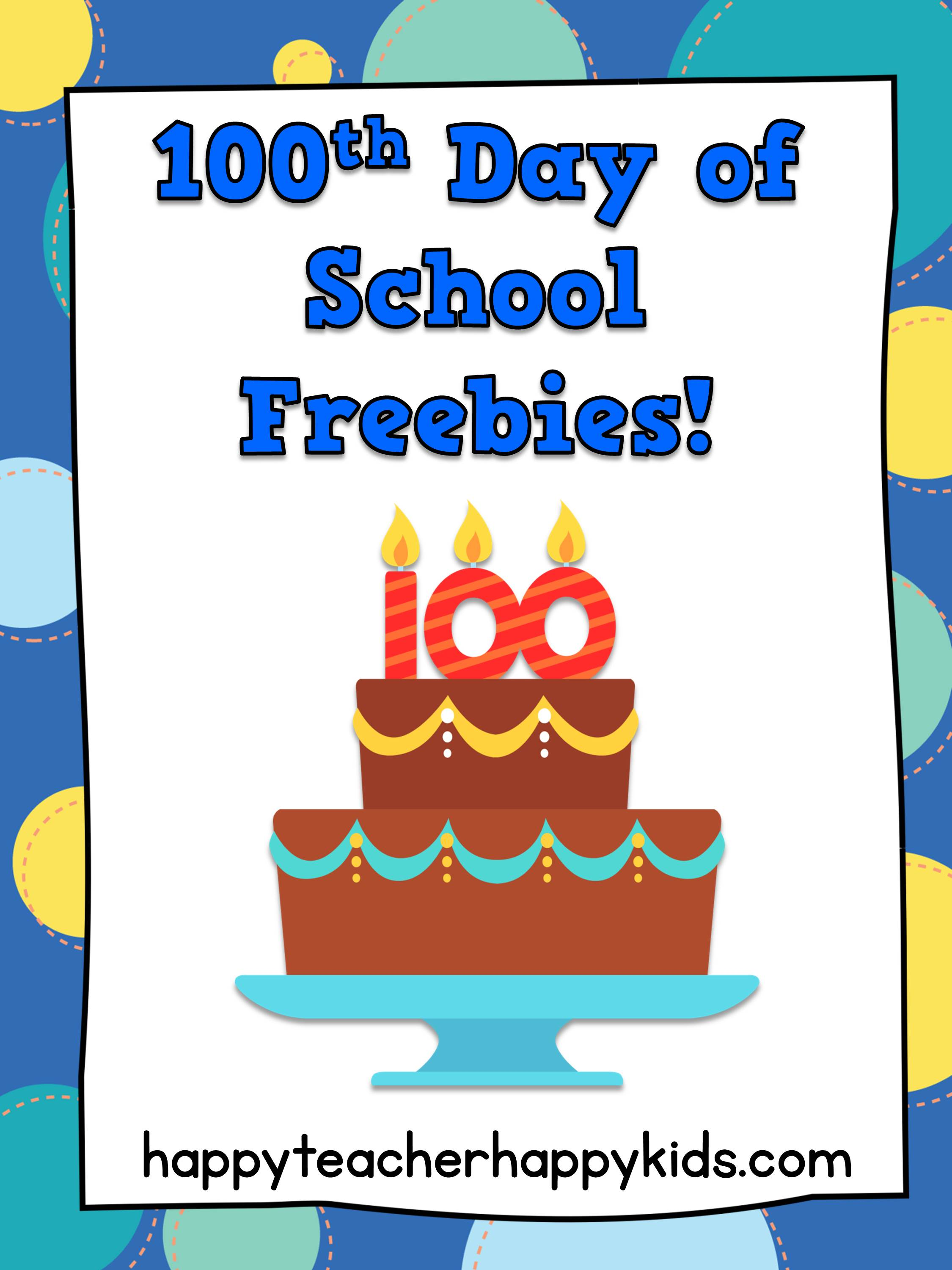 100th Day Of School Fun In First Grade