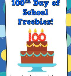 100th Day of School Fun in First Grade - Happy Teacher [ 3000 x 2250 Pixel ]
