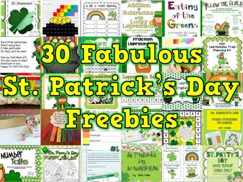 small resolution of 30 Saint Patrick's Day Freebies for K-2 Teachers - Happy Teacher
