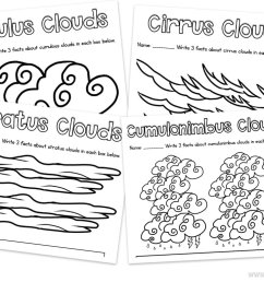 Learning about Clouds in First Grade - Happy Teacher [ 768 x 1024 Pixel ]