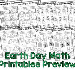 Earth Day Activities for Kindergarten [ 2250 x 3000 Pixel ]