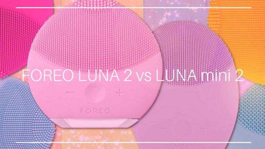 FOREO LUNA 2 vs LUNA mini 2:臉部洗臉機評價誰獲勝?