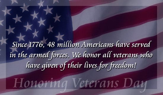 Veterans Day Messages Images