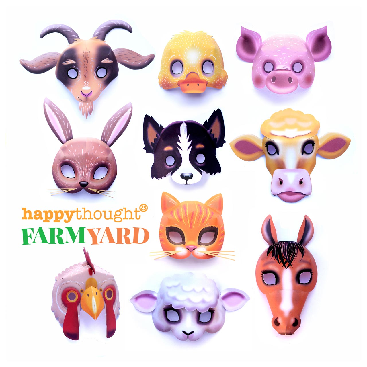 Animal Paper Crafts Templates