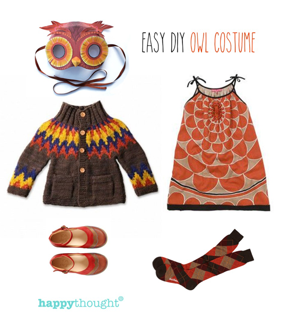 Try our easy homemade owl mask template and be an owl in 5 minutes easy throw together owl costume with owl mask solutioingenieria Images