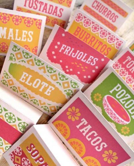 Diy Drinks Food Printables: Dia De Los Muertos Printables. 23 Cool DIY Ideas + Templates
