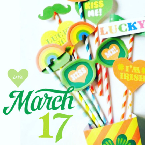St Patrick's Day March 17th easy DIY party paper craft activity pack!