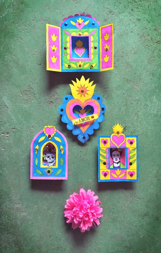 Nicho craft activity for day of the dead easy diy for Day of the dead crafts for preschoolers