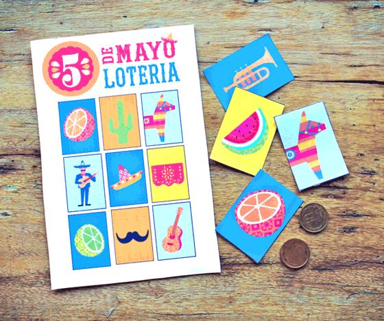 Cinco de Mayo printable bingo!