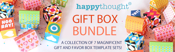 Over 30 gift box templates and patterns for just $5!