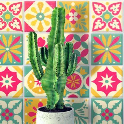 printable talavera decoraton craft activity templates ceramic tiles