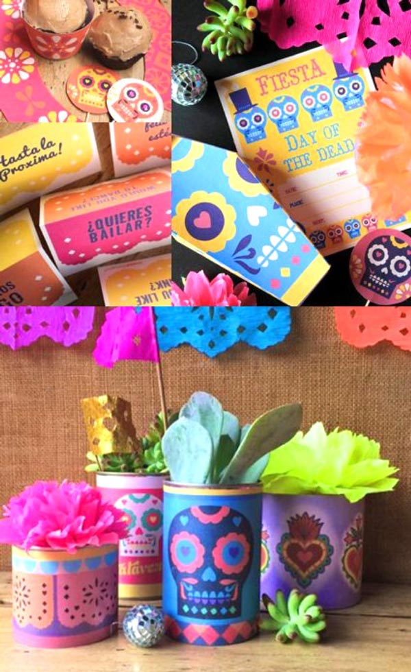 Day of the Dead printable decoration and party ideas