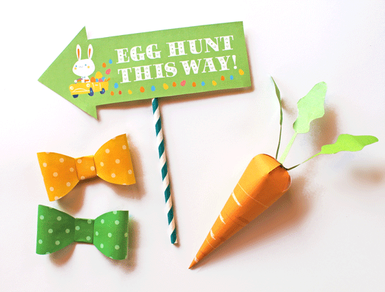 Photo props for Easter fun and celebrations