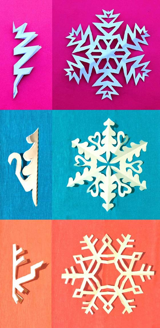 Snowflake crowns headpiece craft templates and instructions - Happythought Holiday craft activity pack!