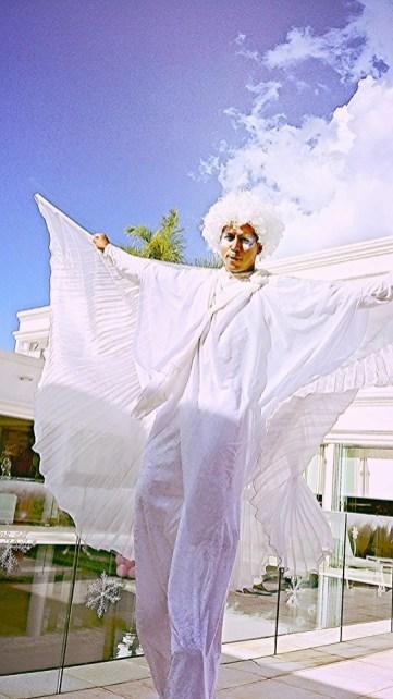 marcos white stilts