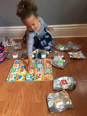 Foil Puzzle Presents