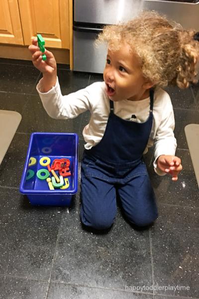 Alphabet match preschooler and toddler activity