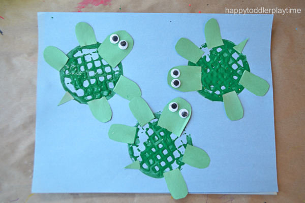 21 Fun & Easy Crafts for Summer - HAPPY TODDLER PLAYTIME
