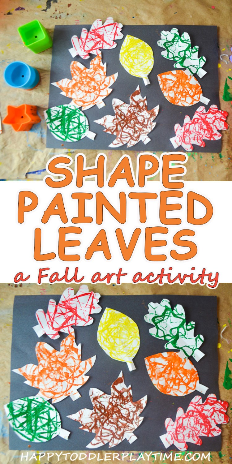 SHAPE PAINTED LEAVES: PROCESS ART ACTIVITY
