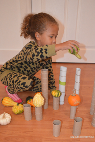 Fall STEM Activity for toddlers and preschoolers