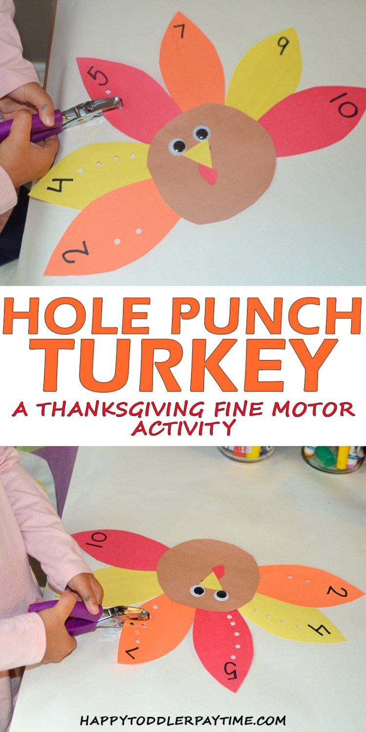 HOLE PUNCH TURKEY pin