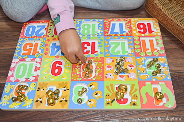 JINGLE BELL PUZZLE COUNTING 3