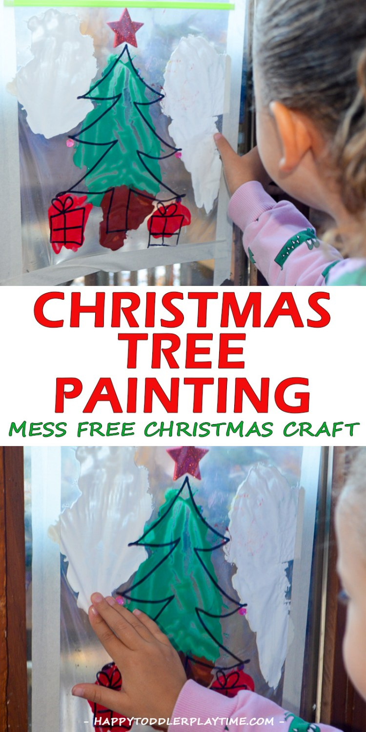 MESS FREE TREE PAINTING pin